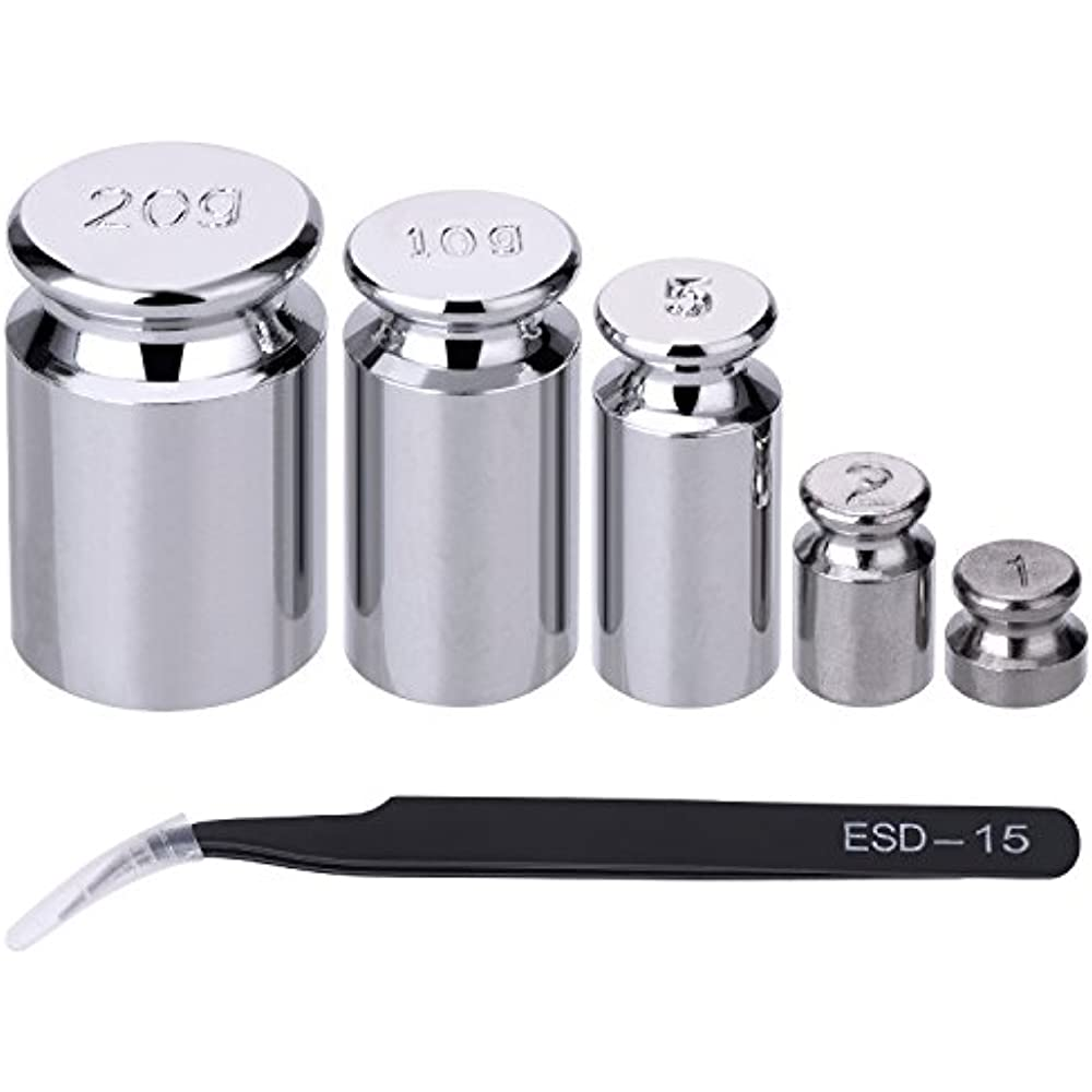 Calibration Weight 1g 2g 5g 10g 20g Gram Scale Set For ...