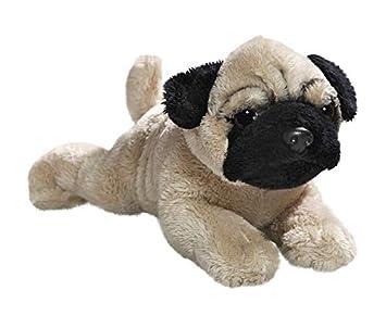 Peluche - Perro Pug, Carlino (Felpa, 22cm Longitud Completa) 3414004