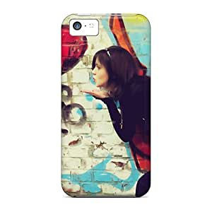 Jeffrehing Design High Quality Love Blows Ur Heart Cover Case With Excellent Style For Iphone 5c