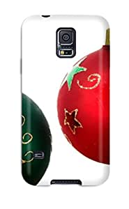 Case For Galaxy S5 With Nice Christmas Decorations Balls Appearance W9BK63G5AZYX26DI