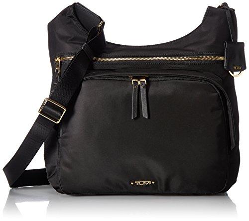 Tumi Women's Voyageur Siam Crossbody Cross Body Bag, Black, One Size