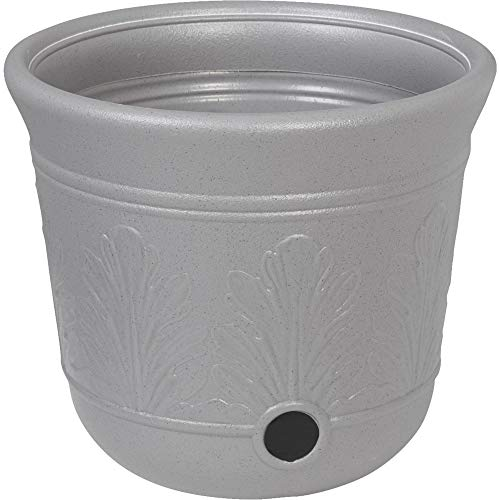 Suncast CPLHPL100 5 Gallon Hose Pot, Gray