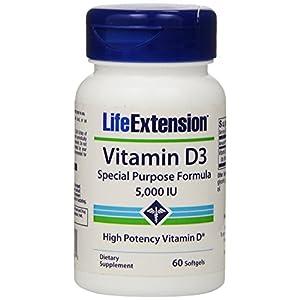 Vitamin D3 5000 IU Life Extension 60 Softgel