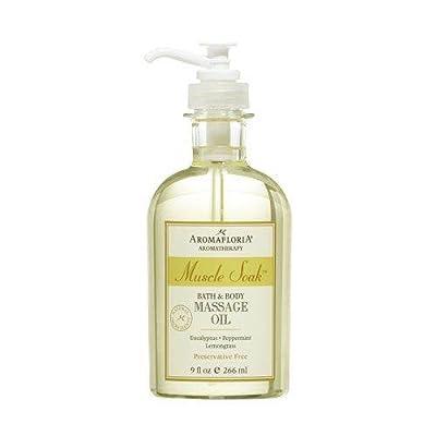 Aromafloria Muscle Soak Bath Oils