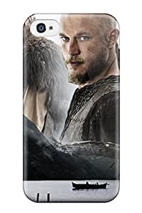 Awesome AIkbsRC3061bLDLB CaseyKBrown Defender Tpu Hard Case Cover For Iphone 4/4s- Vikings 2013 Tv Series