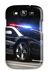 Caronnie QNZXdCv7482psCVY Case Cover Skin For Galaxy S3 (police)