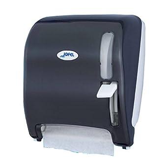 Jofel AG15500 Azur Dispensador de Papel Continuo, Palanca, Fumé: Amazon.es: Industria, empresas y ciencia