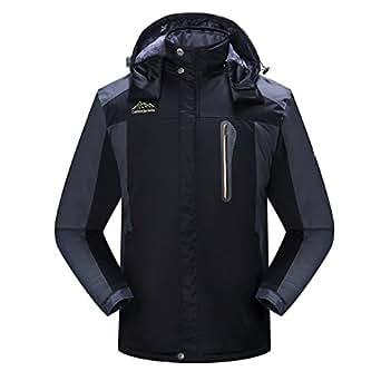 Amazon.com: Men's Winter Waterproof Fleece Lined Ski