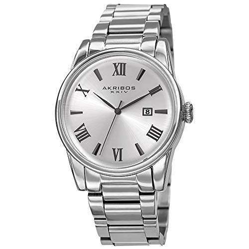Akribos XXIV Stainless Steel Designer Men