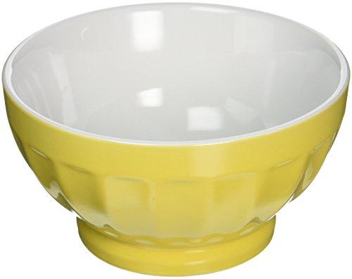 2 Tone Fluted - Bia Cordon Bleu 400107+863 Sun Two-Tone Fluted Bowl, 16 oz, Sun