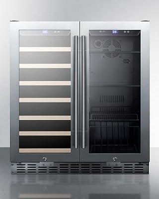 SUMMIT Seamless Stainless Steel Door Trim, SWBV3001