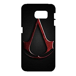Samsung Galaxy S6 Cell Cover Case,Visual Graceful Action Games Logo Pattern Cover Phone Case 3D Hard Plastic Cover