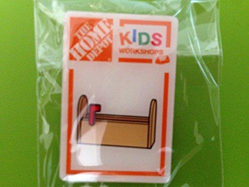 Home Depot Kids Workshop Valentine Mailbox Pin Only