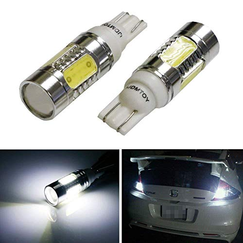 iJDMTOY Extremely Bright 7.5W High Power 912 921 906 Projector LED Reverse Light Bulbs, Xenon White