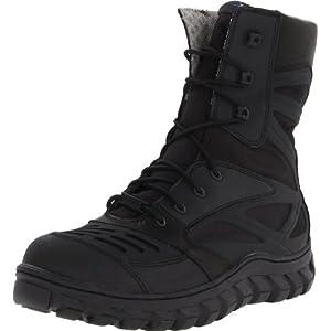 Bates Men's Reyes High Motorcycle Boot,Black,8.5 M US