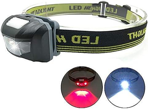 Linterna Frontal LED faro cabeza lámpara de bicicleta luz ...