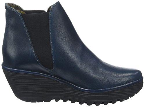 Women Boots Blue Yoss 061 London Fly blu aWnR1C