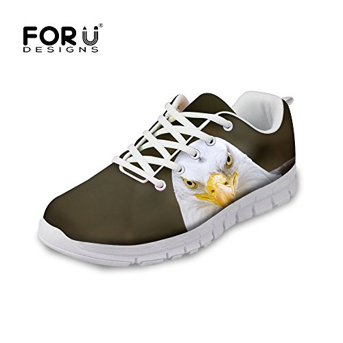 Lightweight Animal FOR Wolf Tiger amp; Men's U DESIGNS Fashion Style Women's Running Mesh Shoes eagle wXxqUvZXr