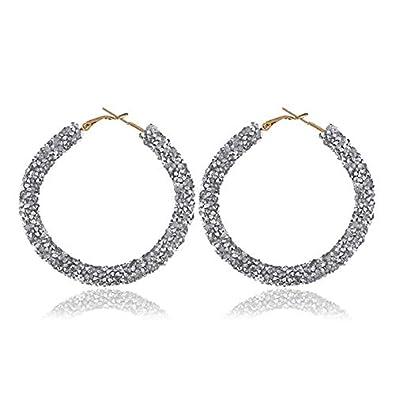 68859919b9 Buy Huma Nasheed's Fashion Sequin Drop Earrings Jewelry/Geometric ...