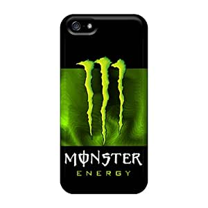 Anti-Scratch Hard Phone Covers For Iphone 5/5s With Custom Nice Monster Series SherriFakhry