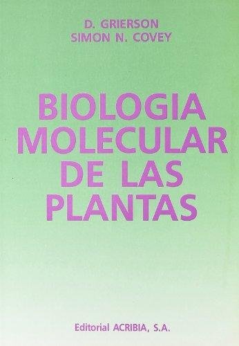 Descargar Libro Biología Molecular De Las Plantas D. Grierson