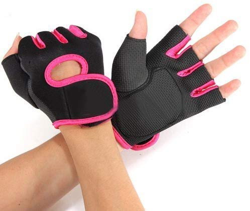 Gymwar Gym Gloves for Weight Lifting Crossfit Fitness Workout Exercise Hand Grips for Women