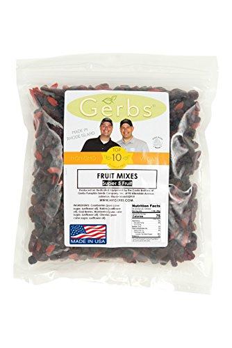 Gerbs Dried Fruit Medleys - SuperFruits Mix, 2 Lbs