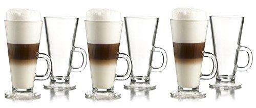 Irish Coffee Mug Tall Boy Set of 6 (Tall Coffee Mug Sets)
