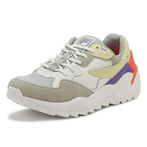Straw Violet Fila violet Sneaker Italian Vault Grey Grigio Donna Jogger italian IrqwzZqYn