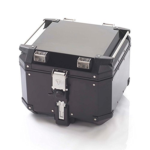 Triumph Motorcycles Expedition Black Aluminum Top Box (Triumph Motorcycle Luggage)