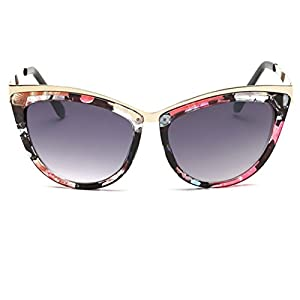 Heartisan Fashion Cat's Eye Lens Full-rim Frame Anti-UV Sunglasses for Women-C3