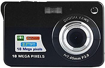 Mini Digital Camera,CamKing CDC3 2.7 inch TFT LCD HD Digital Camera (CDC3-01)