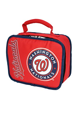 The Northwest Company MLB Washington Nationals Sacked Lunchbox, 10.5-Inch, Red