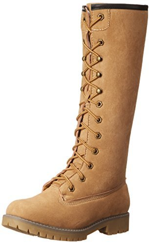 UPC 887865276739, Madden Girl Women's Yumi Snow Boot, Tan Fabric, 5 M US