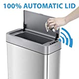 iTouchless SoftStep Gallon Slim Bathroom Trash Can