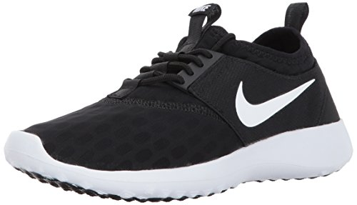 NIKE Women's Juvenate Sneaker, Black/White/Black/White, 8.5 B US