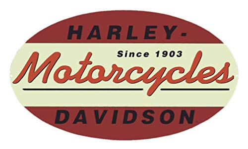 Oval Tin Sign - Harley-Davidson Since 1903 Oval Tin Metal Sign 11 x 18 Inch 2010211