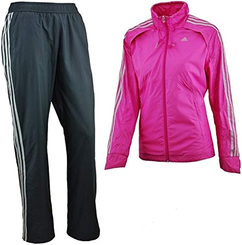 adidas Woven Suit Chándal, Mujer, Rosa/Blanco, 38: Amazon.es: Ropa ...