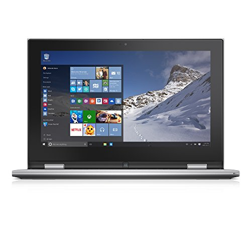 Notebook Touch Screen Computer (Dell Inspiron i3000-5099SLV 11.6 Inch 2-in-1 Touchscreen Laptop (Intel Celeron, 4 GB RAM, 500 GB HDD))