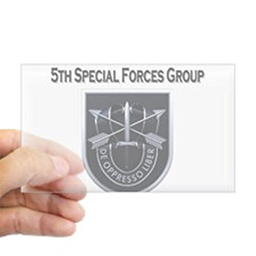 CafePress 5th Special Forces Group Sticker (Rectangle) - ...