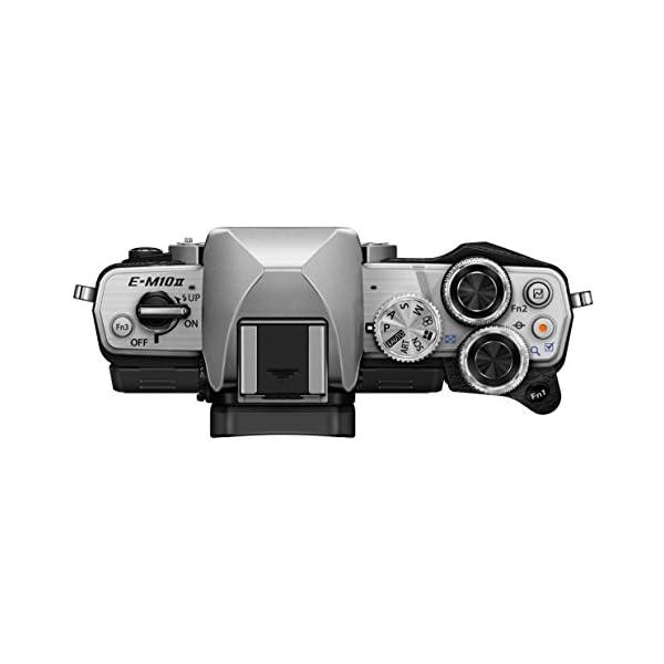 RetinaPix Olympus OM-D E-M10 Mark II Mirrorless Digital Camera (Silver) - Body only