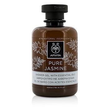 Apivita Pure Jasmine Shower Gel With Essential Oils 300ml 10.14oz