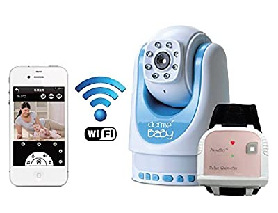Baby Monitor with Digital Monitoring of Breathing and Heart Rate by Dorme' Baby