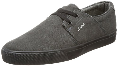 C1RCA Mens Alto Low Durable Lightweight Insole Skate Shoe Charcoal/Black nIHCCVQ