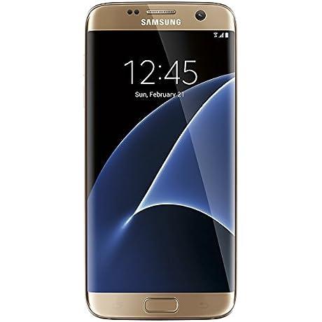 Samsung Galaxy S7 EDGE Verizon Wireless CDMA 4G LTE Smartphone W 12MP Camera And Infinity Screen Gold