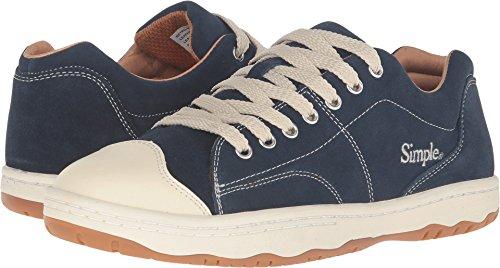 Simple Men's Retro-91 Fashion Sneaker, Navy Suede, 9 M (Simple Suede Sneakers)