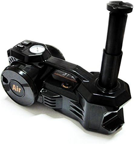 Reifenwechsel So Einfach 2 In 1 Elektrischer Wagenheber Mit Hubkraft Bis 1 5 Tonnen Inklusive Druckluft Reifenfüller Luft Kompressor Auto