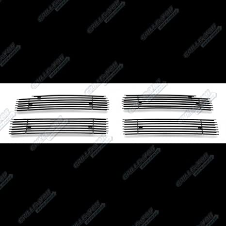 APS Compatible with 1994-2001 Dodge Ram Pickup Main Upper Billet Grille Insert D65721A