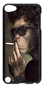 iPod Touch 5 Cases & Covers - Smoking Monkey Custom PC Soft Case Cover Protector for iPod Touch 5 - Transparent