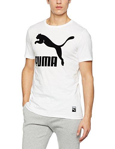 Puma Archive Logo Tee - puma white
